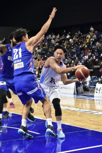 20-21第2節vsライジングゼファー福岡GAME1-0015